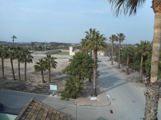 mooi uitzicht vanaf uw appartement in jacarilla